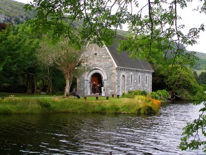 Gougane Barra Church by Bernd Brägelmann