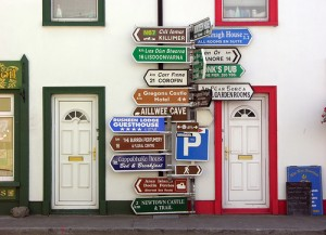 Crowded signpost, by keertmoed