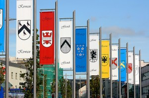 Tribes of Galway pennants by Boocal
