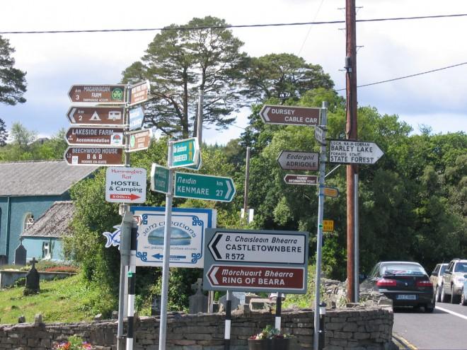Irish Road Signs Amp Traffic Signals