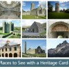 Places to see with a heritage card