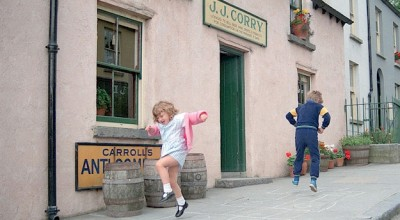 Kids enjoy Bunratty