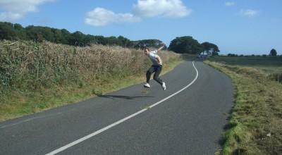 Road Bowling near Drogheda