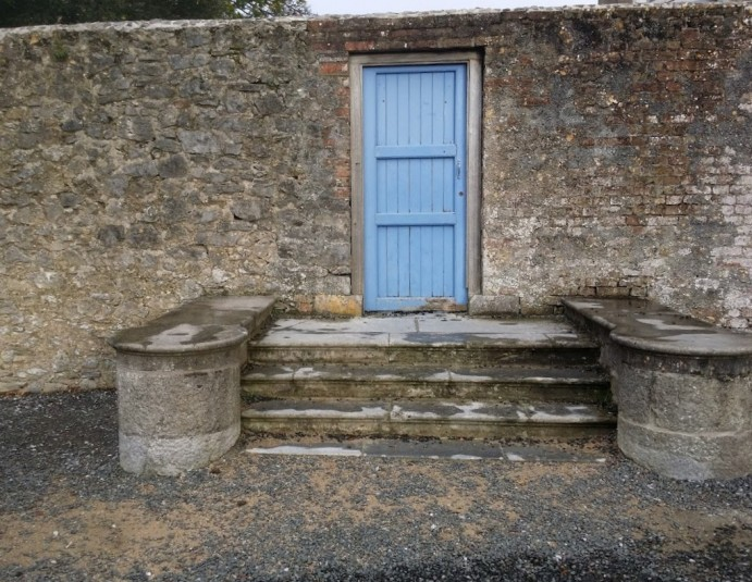 Gate in Old Wall: Doneraile Court