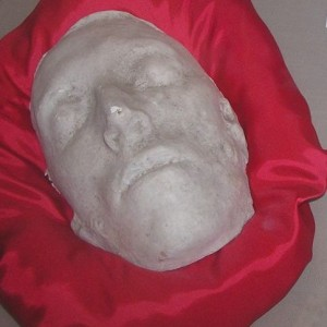 Death Mask of Robert Emmet, photo by storkk