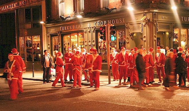 Irish Christmas.A Typical Irish Christmas