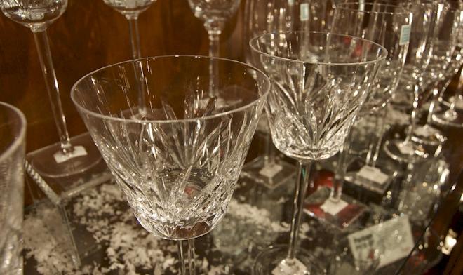 & Irish Crystal and Glass