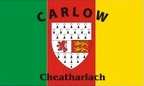 Carlow: Flag, colours and crest