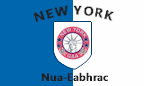 New York GAA: Colours crest and flag