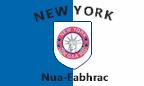 New York GAA: Colours crest and flag