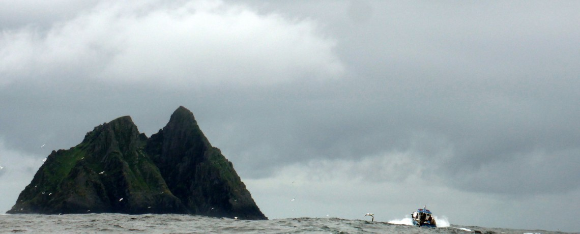 Boat to Skellig Island