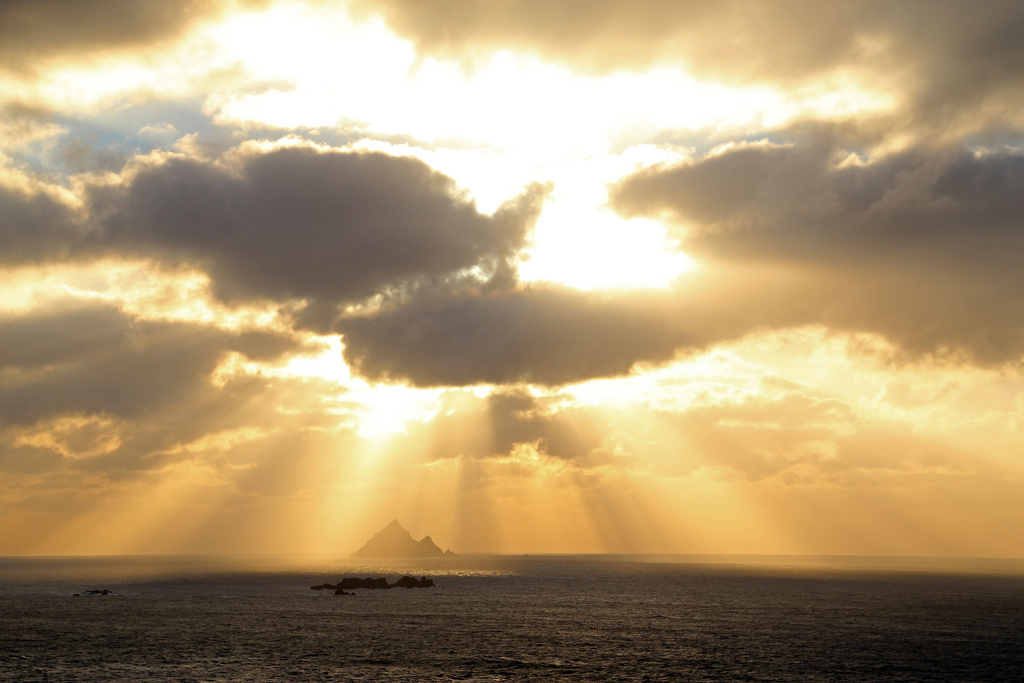 Skellig Sunset