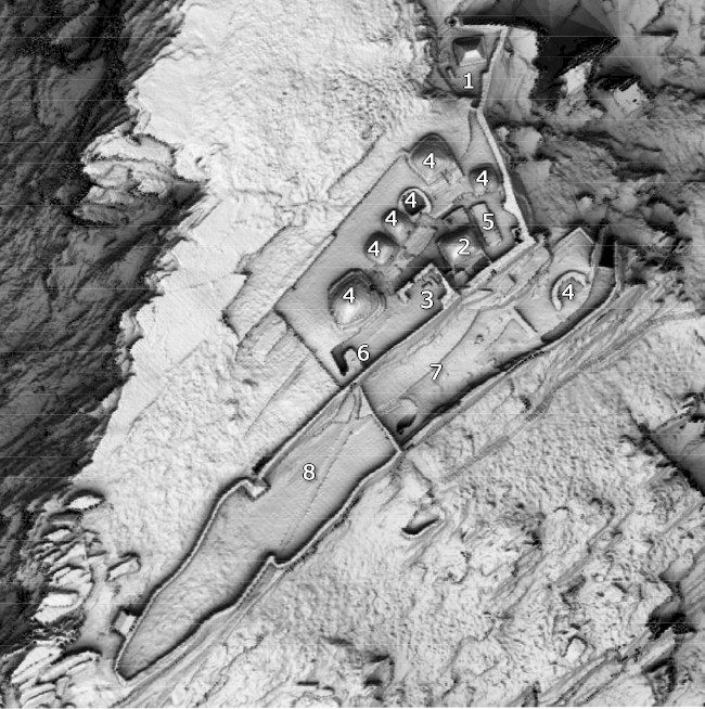 Skellig Monastery Key