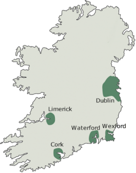 Viking Map Ireland
