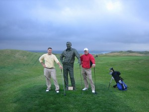 Playing with Arnold Palmer in Tralee! By bhenak