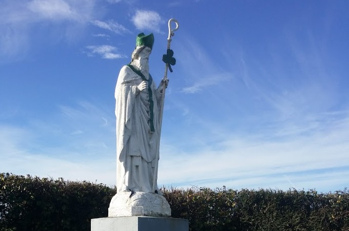 Statue of St Patrick, near Ballingarry