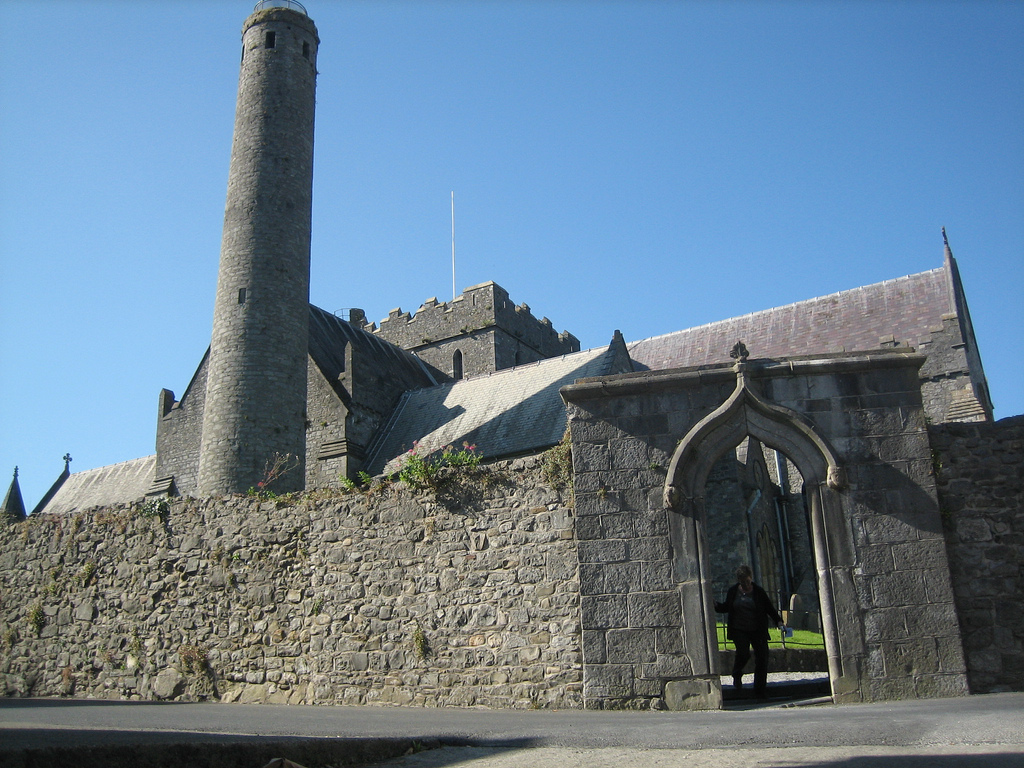 Round Tower, Kilkenny, by Lynn Fennell