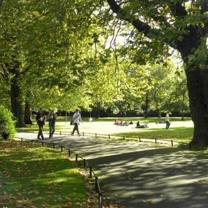 Stephen's Green by Janine de Azevedo