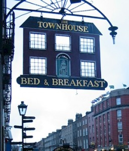 B&B sign, photo by salerie