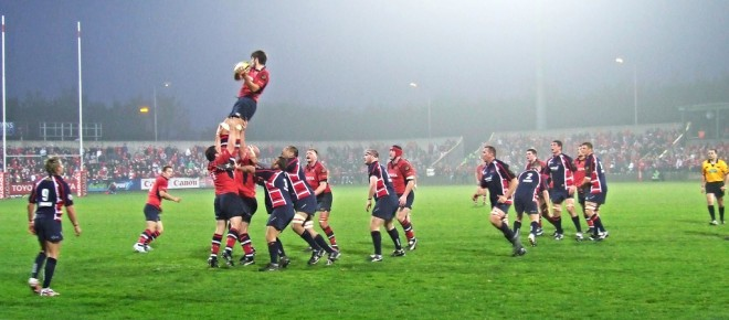Munster Lineout