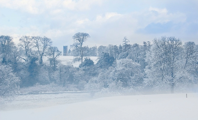 Image result for christmas snow in Ireland