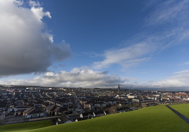 View from the Walls of Derry