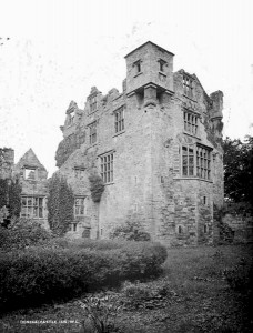 Castle in the late 1800s