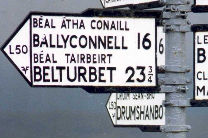 The Meaning of Irish Place Names: A to B