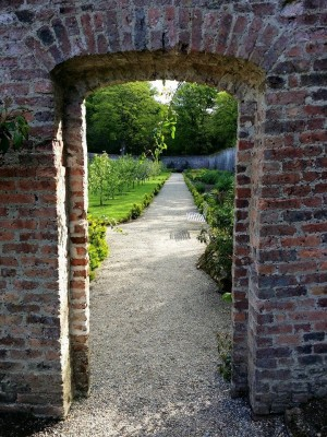 Door at Colclough Walled Garden
