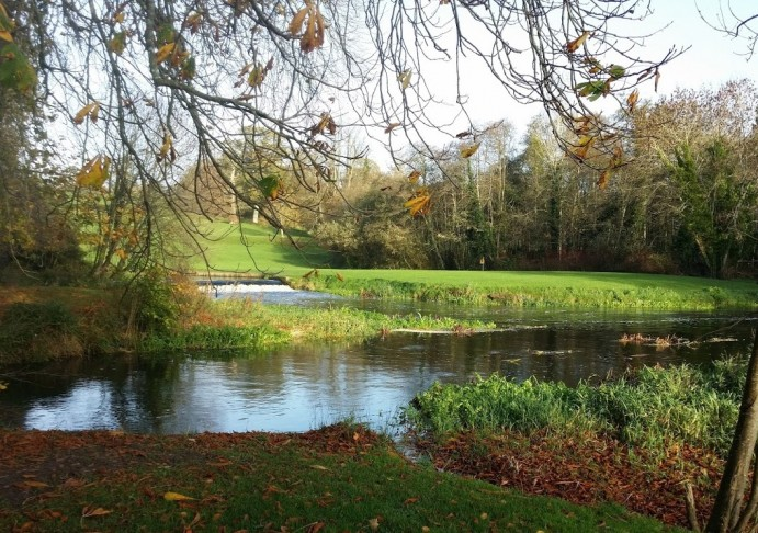 River and weir, Doneraile Court