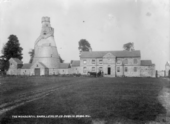 Barn in circa 1900