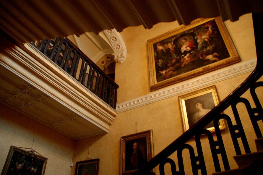 Stairway in Borris House